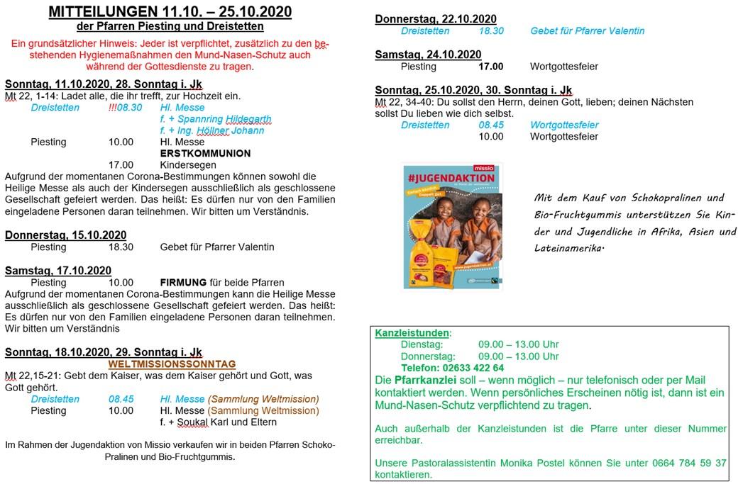 14Wochenzettel11.10.2020-25.10.2020